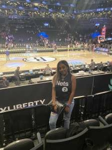 Justin attended Brooklyn Nets vs. Boston Celtics - NBA - First Round Playoffs! ** Vaccinated Fan Section Only ** on May 22nd 2021 via VetTix