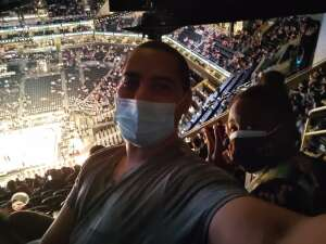 Daquane  attended Brooklyn Nets vs. Boston Celtics - NBA - First Round Playoffs! ** Vaccinated Fan Section Only ** on May 22nd 2021 via VetTix