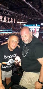 Howie attended Brooklyn Nets vs. Boston Celtics - NBA - First Round Playoffs! ** Vaccinated Fan Section Only ** on May 22nd 2021 via VetTix