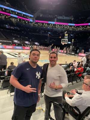 Sham attended Brooklyn Nets vs. Boston Celtics - NBA - First Round Playoffs! ** Vaccinated Fan Section Only ** on May 22nd 2021 via VetTix