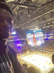 GMAN attended Brooklyn Nets vs. Boston Celtics - NBA - First Round Playoffs! ** Vaccinated Fan Section Only ** on May 22nd 2021 via VetTix