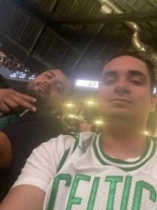 Brandon attended Brooklyn Nets vs. Boston Celtics - NBA - First Round Playoffs! ** Vaccinated Fan Section Only ** on May 22nd 2021 via VetTix