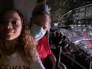James attended Brooklyn Nets vs. Boston Celtics - NBA - First Round Playoffs! ** Vaccinated Fan Section Only ** on May 22nd 2021 via VetTix