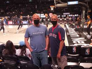 Todd Lowe attended Brooklyn Nets vs. Boston Celtics - NBA - First Round Playoffs! ** Vaccinated Fan Section Only ** on May 22nd 2021 via VetTix