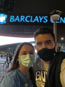 Level Up attended Brooklyn Nets vs. Boston Celtics - NBA - First Round Playoffs! ** Vaccinated Fan Section Only ** on May 22nd 2021 via VetTix