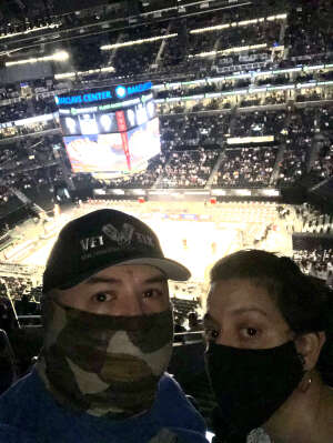 Oscar L attended Brooklyn Nets vs. Boston Celtics - NBA - First Round Playoffs! ** Vaccinated Fan Section Only ** on May 22nd 2021 via VetTix