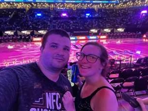 Scota attended Brooklyn Nets vs. Boston Celtics - NBA - First Round Playoffs! ** Vaccinated Fan Section Only ** on May 22nd 2021 via VetTix