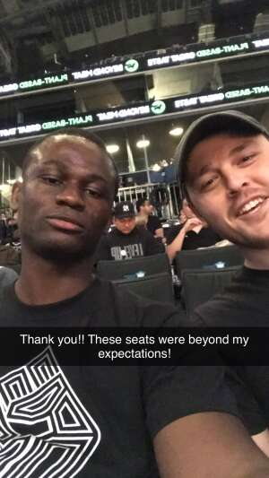 Stevie  attended Brooklyn Nets vs. Boston Celtics - NBA - First Round Playoffs! ** Vaccinated Fan Section Only ** on May 22nd 2021 via VetTix