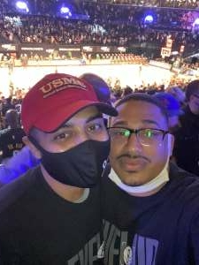 Frank attended Brooklyn Nets vs. Boston Celtics - NBA - First Round Playoffs! ** Vaccinated Fan Section Only ** on May 22nd 2021 via VetTix