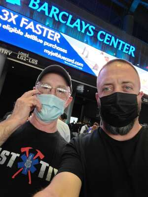 Sgt.H attended Brooklyn Nets vs. Boston Celtics - NBA - First Round Playoffs! ** Vaccinated Fan Section Only ** on May 22nd 2021 via VetTix