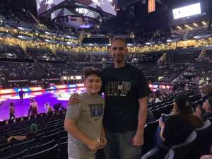 Rodriguez fam in the house! attended Brooklyn Nets vs. Boston Celtics - NBA - First Round Playoffs! ** Vaccinated Fan Section Only ** on May 22nd 2021 via VetTix