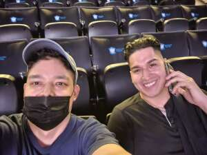 JM attended Brooklyn Nets vs. Boston Celtics - NBA - First Round Playoffs! ** Vaccinated Fan Section Only ** on May 22nd 2021 via VetTix
