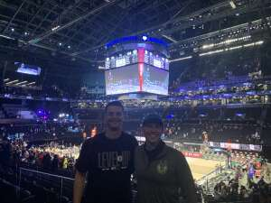 Garrett attended Brooklyn Nets vs. Boston Celtics - NBA - First Round Playoffs! ** Vaccinated Fan Section Only ** on May 22nd 2021 via VetTix