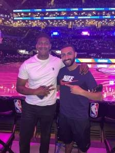 Rc  attended Brooklyn Nets vs. Boston Celtics - NBA - First Round Playoffs! ** Vaccinated Fan Section Only ** on May 22nd 2021 via VetTix