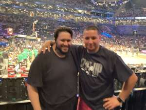 Kris attended Brooklyn Nets vs. Boston Celtics - NBA - First Round Playoffs! ** Vaccinated Fan Section Only ** on May 22nd 2021 via VetTix