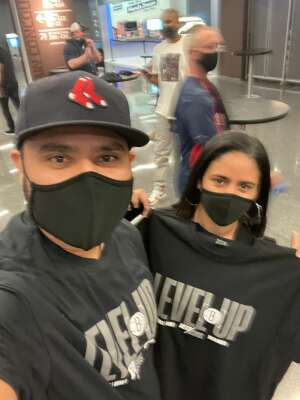 Kat attended Brooklyn Nets vs. Boston Celtics - NBA - First Round Playoffs! ** Vaccinated Fan Section Only ** on May 22nd 2021 via VetTix