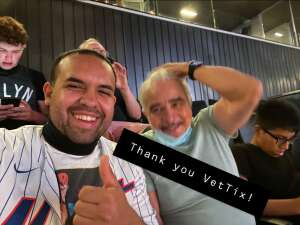 Rruiz attended Brooklyn Nets vs. Boston Celtics - NBA - First Round Playoffs! ** Vaccinated Fan Section Only ** on May 22nd 2021 via VetTix