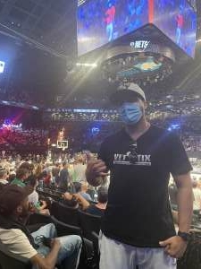 Click To Read More Feedback from Brooklyn Nets vs. Boston Celtics - NBA - First Round Playoffs! ** Vaccinated Fan Section Only **