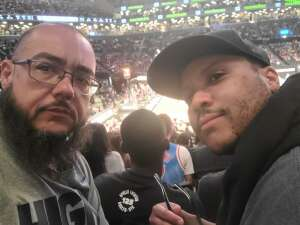 Rob attended Brooklyn Nets vs. Boston Celtics - NBA - First Round Playoffs! ** Vaccinated Fan Section Only ** on May 22nd 2021 via VetTix
