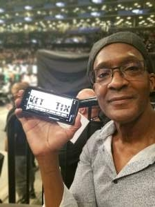 Wendell attended Brooklyn Nets vs. Boston Celtics - NBA - First Round Playoffs! ** Vaccinated Fan Section Only ** on May 22nd 2021 via VetTix