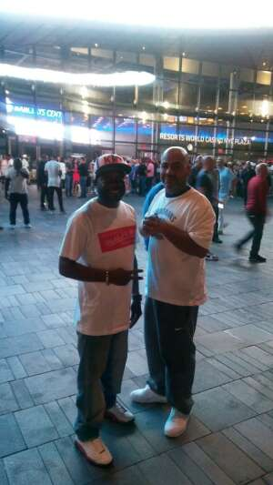 Kenon  attended Brooklyn Nets vs. Boston Celtics - NBA - First Round Playoffs! ** Vaccinated Fan Section Only ** on May 22nd 2021 via VetTix