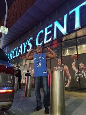 Mario Ramirez attended Brooklyn Nets vs. Boston Celtics - NBA - First Round Playoffs! ** Vaccinated Fan Section Only ** on May 22nd 2021 via VetTix