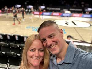 Awesome Seats!! attended Brooklyn Nets vs. Boston Celtics - NBA - First Round Playoffs! ** Vaccinated Fan Section Only ** on May 22nd 2021 via VetTix
