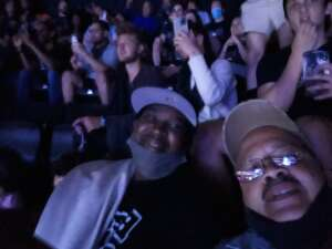 Edwin Santiago  attended Brooklyn Nets vs. Boston Celtics - NBA - First Round Playoffs! ** Vaccinated Fan Section Only ** on May 22nd 2021 via VetTix