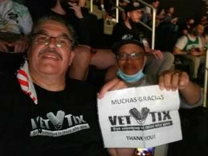 Rafael  attended Brooklyn Nets vs. Boston Celtics - NBA - First Round Playoffs! ** Vaccinated Fan Section Only ** on May 22nd 2021 via VetTix