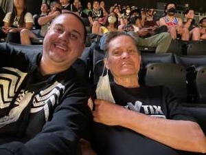 Sanchez Family attended Brooklyn Nets vs. Boston Celtics - NBA - First Round Playoffs! ** Vaccinated Fan Section Only ** on May 22nd 2021 via VetTix