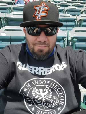 Ernie attended Inland Empire 66ers vs. Fresno Grizzlies - MiLB on May 27th 2021 via VetTix