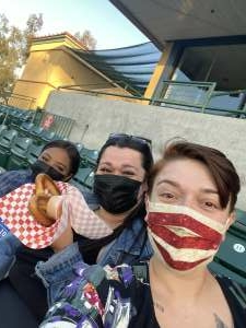 Isa Ramirez  attended Inland Empire 66ers vs. Fresno Grizzlies - MiLB on May 27th 2021 via VetTix