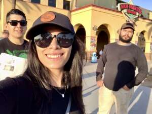 Pitsikos Family attended Inland Empire 66ers vs. Fresno Grizzlies - MiLB on May 27th 2021 via VetTix