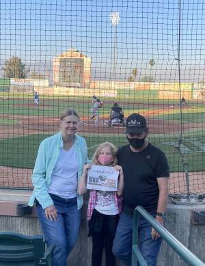 Click To Read More Feedback from Inland Empire 66ers vs. Fresno Grizzlies - MiLB