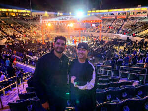 Jason attended Premier Boxing Champions: Oubaali vs. Donaire - Pod Seating for 4 on May 29th 2021 via VetTix