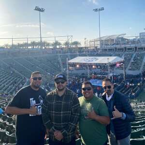 Rogelio Garcia attended Premier Boxing Champions: Oubaali vs. Donaire - Pod Seating for 4 on May 29th 2021 via VetTix