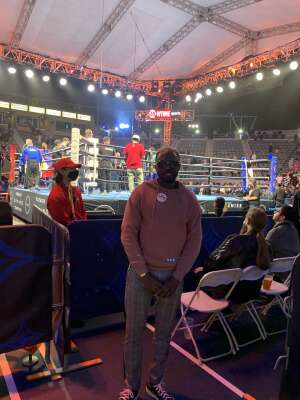 Boxing Event attended Premier Boxing Champions: Oubaali vs. Donaire - Pod Seating for 2 on May 29th 2021 via VetTix