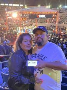 Robert Mendoza attended Premier Boxing Champions: Oubaali vs. Donaire - Pod Seating for 2 on May 29th 2021 via VetTix
