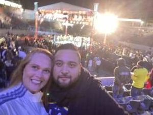Jen S attended Premier Boxing Champions: Oubaali vs. Donaire - Pod Seating for 2 on May 29th 2021 via VetTix