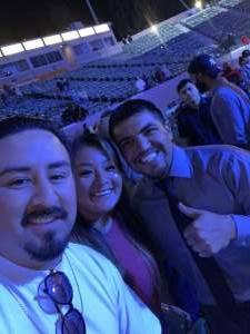 Eli attended Premier Boxing Champions: Oubaali vs. Donaire - Pod Seating for 2 on May 29th 2021 via VetTix