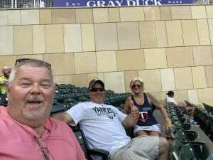 Marlon attended Minnesota Twins vs. New York Yankees - MLB on Jun 8th 2021 via VetTix