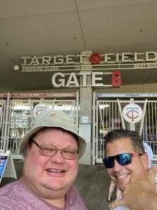 Perk4142 attended Minnesota Twins vs. New York Yankees - MLB on Jun 8th 2021 via VetTix