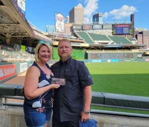 Lucinda Briggs  attended Minnesota Twins vs. New York Yankees - MLB on Jun 8th 2021 via VetTix