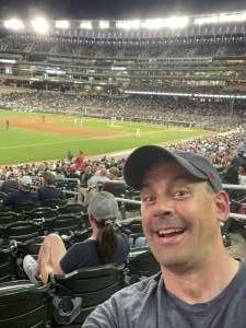 Mike attended Minnesota Twins vs. New York Yankees - MLB on Jun 8th 2021 via VetTix