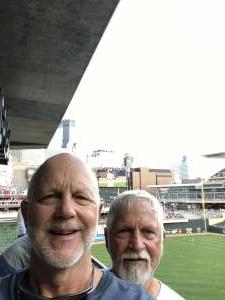 Varp attended Minnesota Twins vs. New York Yankees - MLB on Jun 8th 2021 via VetTix