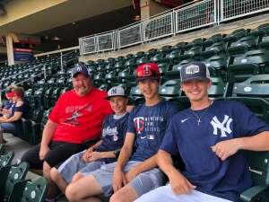 Ray attended Minnesota Twins vs. New York Yankees - MLB on Jun 8th 2021 via VetTix