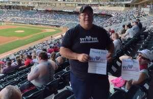 Bruce attended Minnesota Twins vs. New York Yankees - MLB on Jun 8th 2021 via VetTix