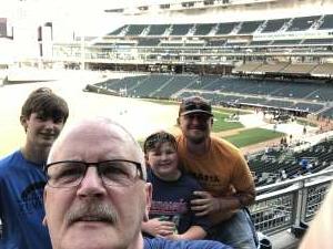Gary Lee Schroeder, Sr attended Minnesota Twins vs. New York Yankees - MLB on Jun 8th 2021 via VetTix