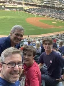 Chris B attended Minnesota Twins vs. New York Yankees - MLB on Jun 8th 2021 via VetTix