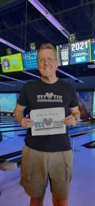 Scott A. Gore USN 78-82 attended Bowling Fatcats on May 27th 2021 via VetTix